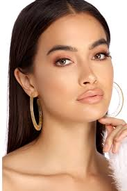 hoop earings sale gold glitter lucite hoop earrings