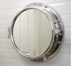 traditional bathroom mirror nautical wall mirrors nautical porthole bathroom mirror cabinet