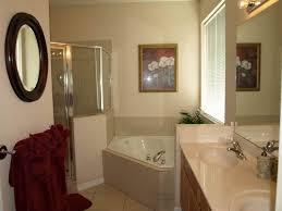 guest bathrooms ideas bathroom charming guest bathroom idea with oval mirror and