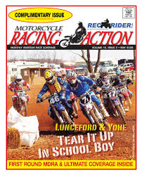 Atv Sponsorship Resume Mra May 2008 By Motorcycle Racing Action Issuu