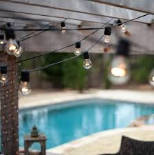 Outdoor Bulb Lights String by Outdoor Vintage String Lights Outdoor Patio String Bulb Lights