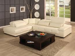white leather living room set living room white leather sectional sofa cushions dark brown