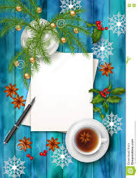 christmas tea party background stock vector image 80268783