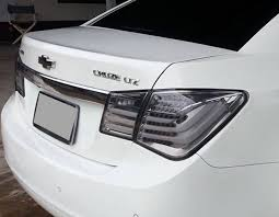 2015 chevy sonic tail light led tail light rear black smoke len for chevrolet cruze chevy 10 11