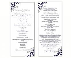Printable Wedding Programs Wedding Ideas Program Weddbook