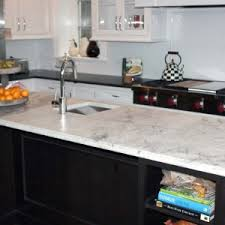 exciting black color kitchen honed granite countertop featuring l