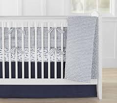 Plain Crib Bedding Baby Boy Bedding Pottery Barn