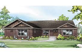 craftsman style ranch home plans brick craftsman style ranch house plans images luxihome