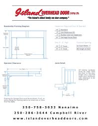Overhead Door Parts List by Island Overhead Door 1979 Ltd Commercial And Residential