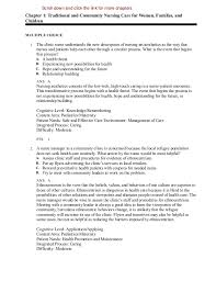 Anatomy And Physiology Chapter 1 Review Answers Maternity Nursing Review Questions