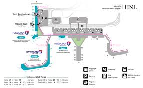 Dallas Terminal Map by Hawaiian Airlines Airport Locations