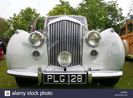 old chrysler grill front grill and headlamps on classic bently at vintage vehicle