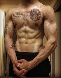 Small Chest Tattoo Ideas 100 Celtic Knot Tattoos For Men Interwoven Design Ideas