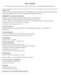 home health aide resume hha resume resume templates