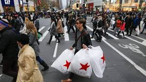 thanksgiving weekend shoppers spent less due to discounts cbs