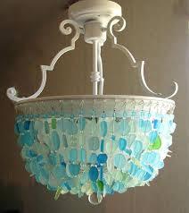 themed chandelier themed chandeliers sea glass chandelier lighting fixture