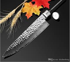high quality kitchen knives high quality 8diy knife blank blade 67 layers damascus steel kitchen