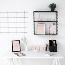 White And Pink Desk by 10 Instagram Approved Workspaces That Will Make You Want To Wfh