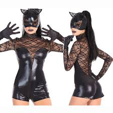 Latex Halloween Costumes Cheap Catwoman Costume Aliexpress Alibaba Group