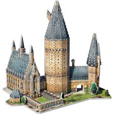 Hogwarts by Wrebbit 3d Puzzle Harry Potter Hogwarts Great Hall 850 Pieces