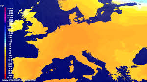 Europe Temperature Map by Temperature Forecast Europe 2017 05 27 Youtube