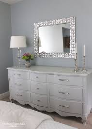 Bedroom Dresser With Mirror Serendipity Bedroom Bed Dresser Mirror Chagne For Bedroom