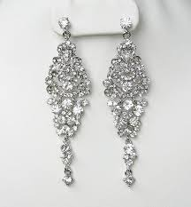 bridal chandelier earrings 1000 ideas about bridal chandelier earrings on 1