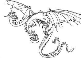 zippleback twin heads dragon train dragon coloring