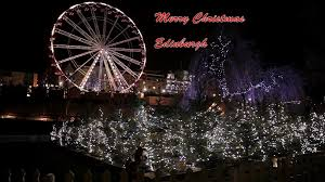 edinburgh christmas scotland youtube