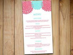love bird wedding menu card template wedding reception menu