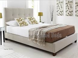 enchanting upholstered ottoman bed richmond upholstered winged