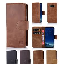 samsung galaxy s8 premium italian leather book wallet case