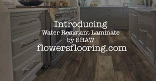 flowers flooring introduces shaw repel water resistant laminate