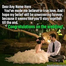 wedding wishes jokes top 200 wedding wishes with your name online greetings