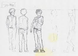 koe no katachi character designer chief animation director