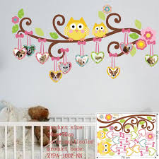 Aliexpresscom  Buy Owl Wall Stickers For Kids Room Decorations - Kids rooms decals