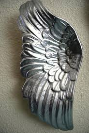 Angel Wing Wall Decor Wall Ideas Image Of Popular Angel Wings Wall Decor Metal Angel