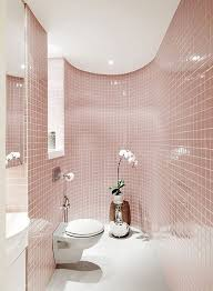 pink tile bathroom ideas creative soft pink tiles for magical bathroom idea avon soft pink