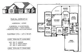 one story four bedroom house plans house plans 4 bedroom 25 bath house decorations