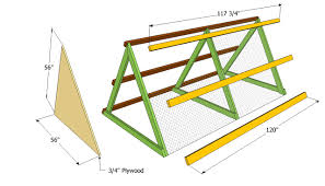 Free A Frame House Plans by Simple A Frame Chicken Coop Plans With Chicken House Plans Kenya