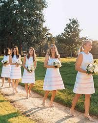 bridal party attire martha stewart weddings