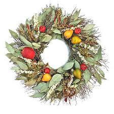 metal wreath grandin road