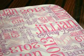 engraved blankets baby baby blanket personalized name home inspirations design