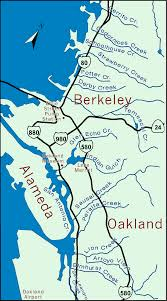 Map Of Oakland Oakland U0026 Berkeley Watershed Finder