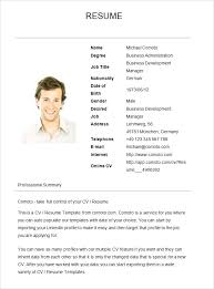 resume exles simple simple resume sles imcbet info
