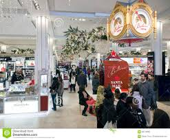 Macy S Herald Square Floor Plan by Shoppers Inside Macy U0027s At Christmas Time In Nyc Editorial Image