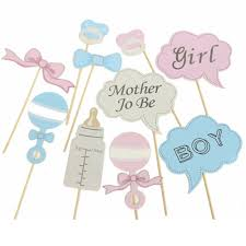 baby shower frames new party gifts photo booth props diy bottle baby shower boy girl