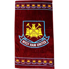 West Ham Duvet Cover Buy West Ham United Football Fc Beach Bath Towel From Our Bath