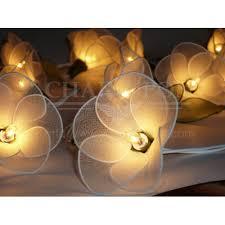 String Of Flower Lights flower string lights