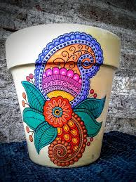 Flower Pots - 1640 best flowerpots u0026 whatnots images on pinterest painted